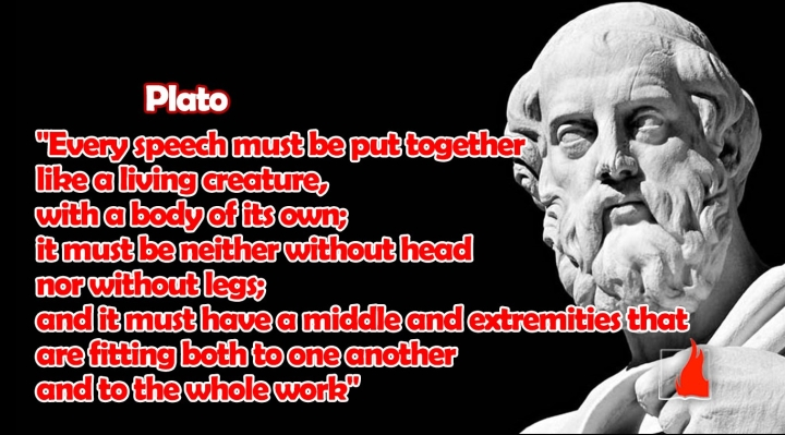 plato on speeches arrangement